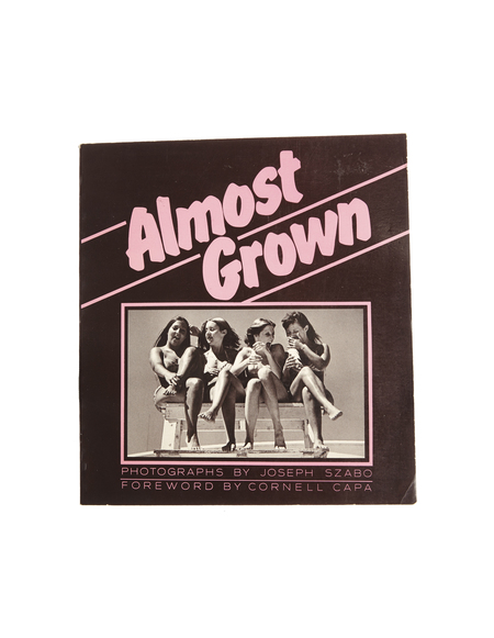 "Books ""Almost Grown"" by Joseph Szabo"