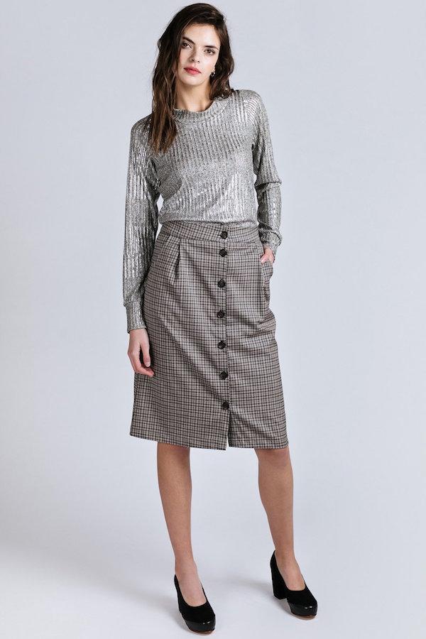 Allison Wonderland Rijk Sweater - Silver