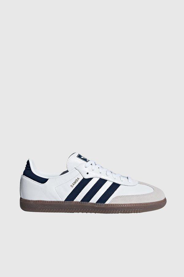 e76e1c91b Adidas Originals Samba OG - White/Navy/White   Garmentory