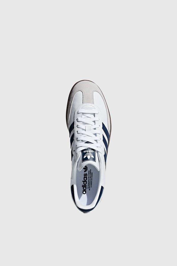 48ffea293 Adidas Originals Samba OG - White/Navy/White | Garmentory