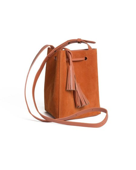 VereVerto Mini Tris Bag - Burn Suede