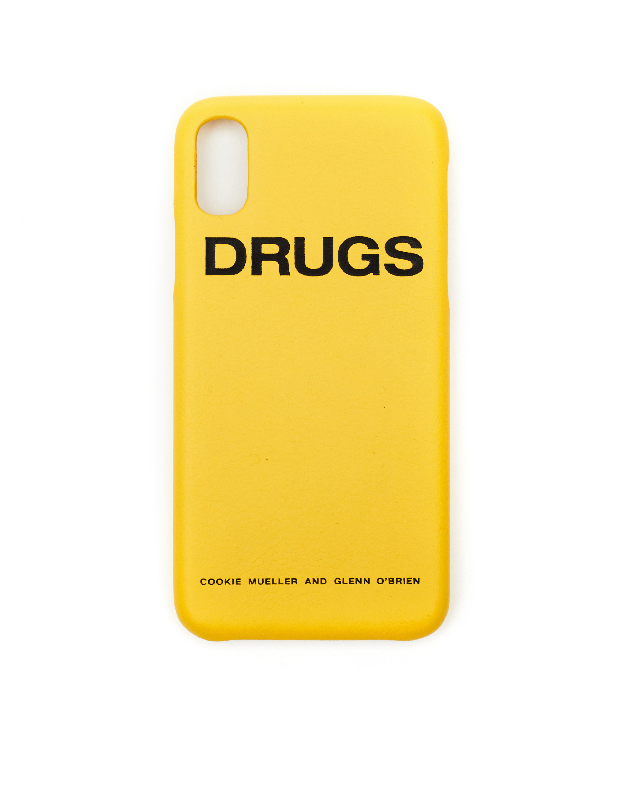 buy online a164b 3a9a6 Raf Simons Drugs iPhone X Case - Yellow