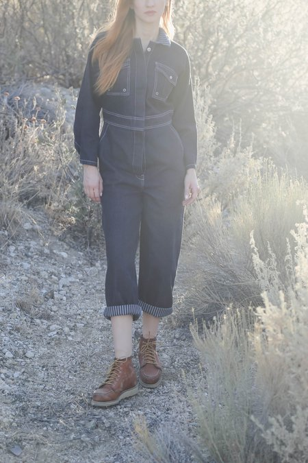 W'Menswear Fieldwork Denim Suit