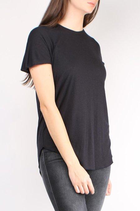 Cathrine Hammel Wool Jersey Tee Shirt - Ink Blue