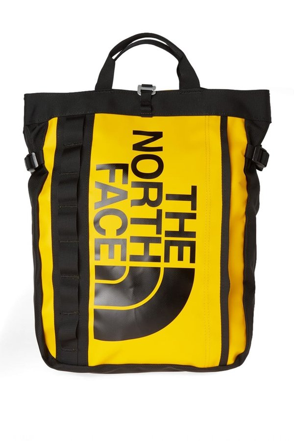 THE NORTH FACE BASE CAMP TOTE - YELLOW on Garmentory on