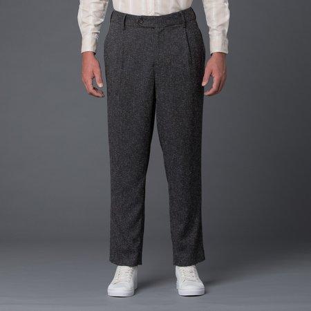 Krammer & Stoudt Cooper Wide Leg Trouser - Grey Melange