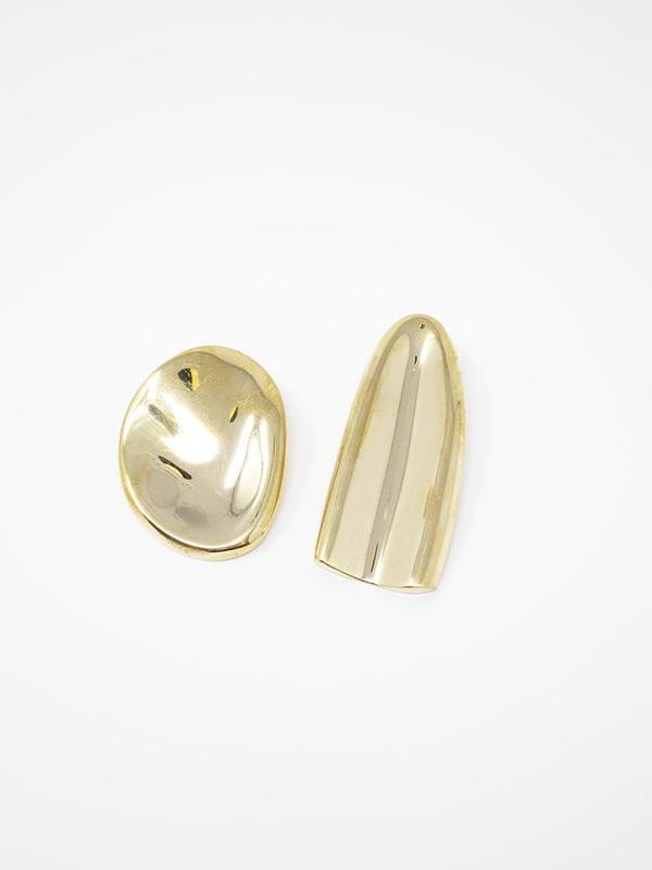 Quarry Olmi Earrings - Brass