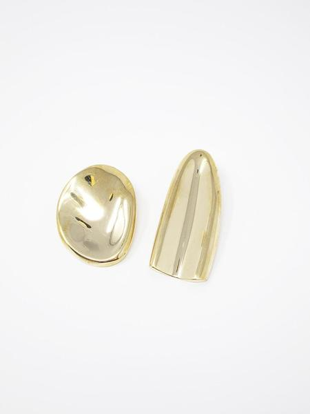 Quarry Olmi Earrings - Brass