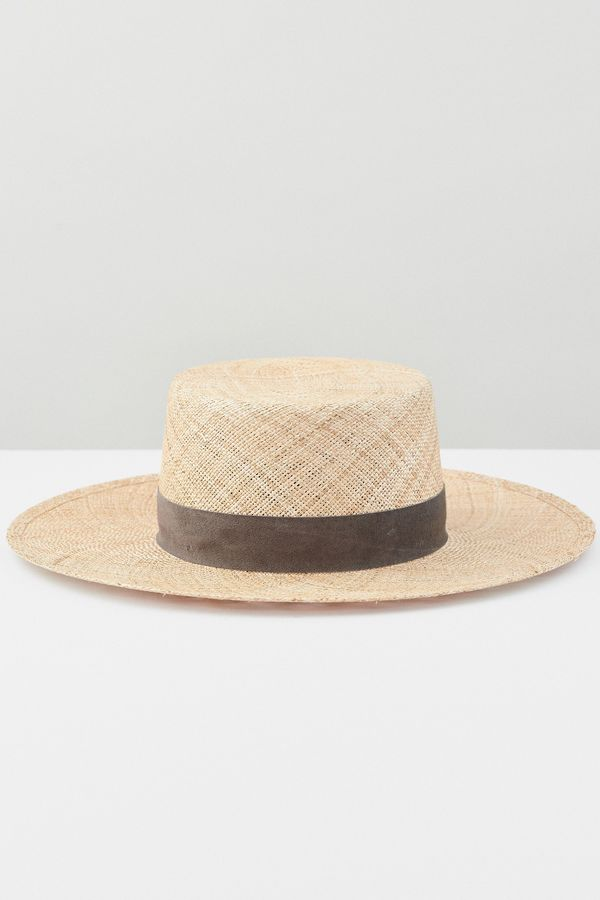 1ff1ac5c2c4dc Janessa Leone Jade Straw Hat
