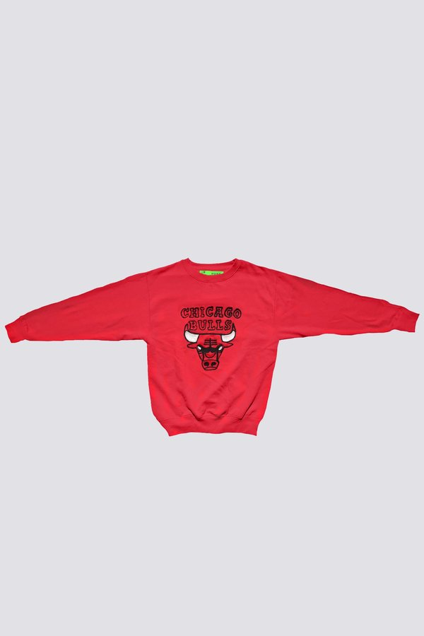 Unisex HUNK Chicago Bulls Sweatshirt - red  88ad11c21