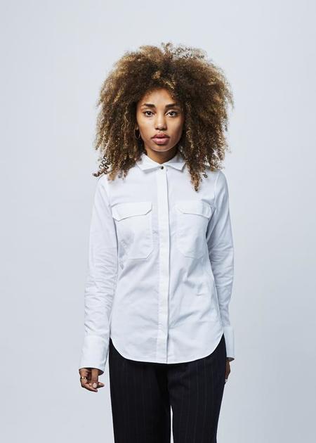 Lareida Alex Button Up Shirt - White
