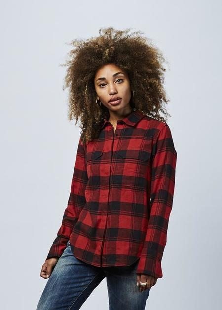 Lareida Alex Plaid Shirt - Red/Black