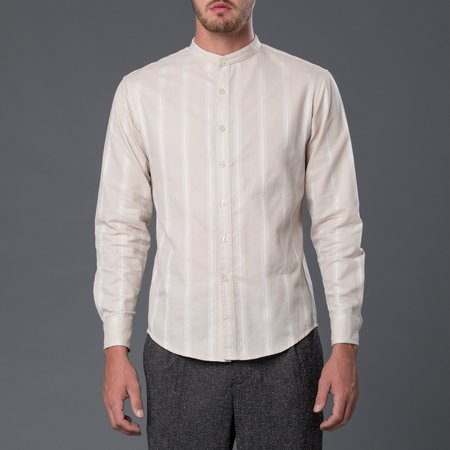 Krammer & Stoudt Cody Shirt - Ecru Stripe