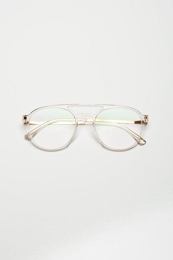 4acd0a265e3 Mykita Miki Sunglasses - Clear