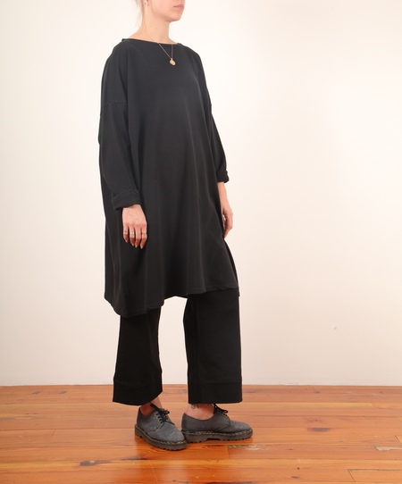Revisited Simona Tunic - black