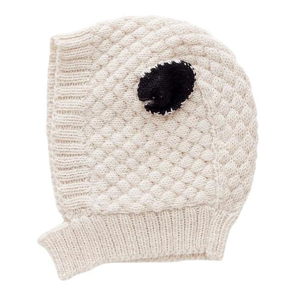 KIDS Oeuf NYC Baby and Child Winter Hat - Sheep White  28359ebbd