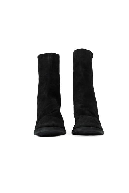 Guidi 3006 Back Zip High Heel Boots - Black