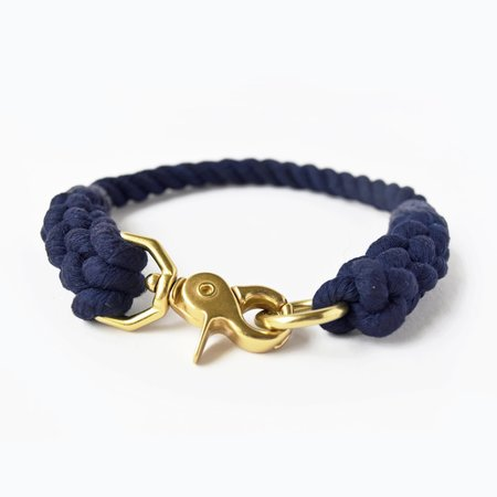 Moondog Design Rope Collar - Navy