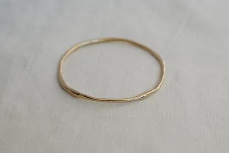 Takara Sabine Bangle - Gold Plated
