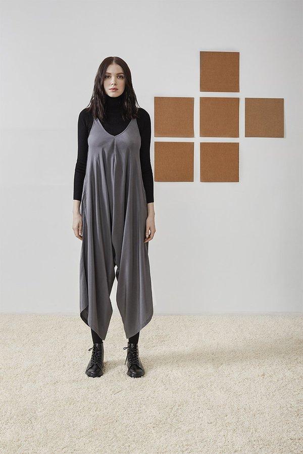 best choice sale online up-to-datestyling RUJUTA SHETH Transeasonal Wide Leg Harem Jumper - Grey on Garmentory