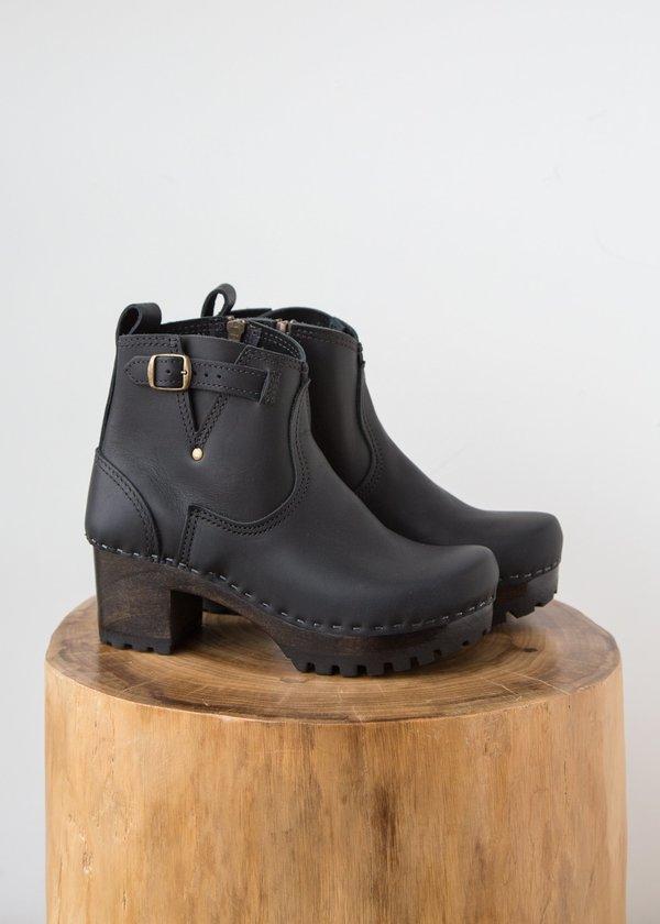 "No.6 5"" Buckle Boot On Mid Tread"