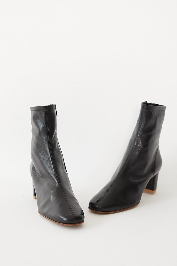 be4b367c67e BY FAR Sofia Boots - Black Leather on Garmentory