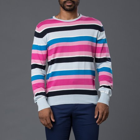 David Hart Crew Neck Sweater - Multi