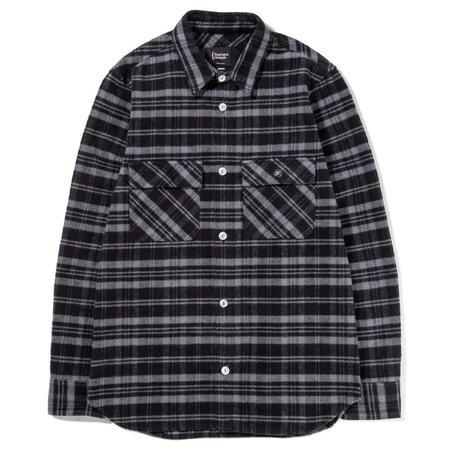 {ie Work Shirt - Black/Grey