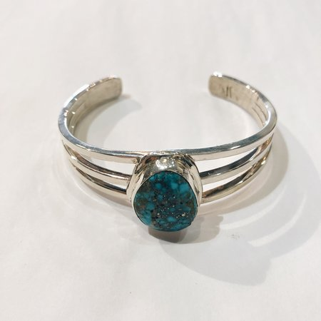 Ben Rios Silver Cuff - Turquoise