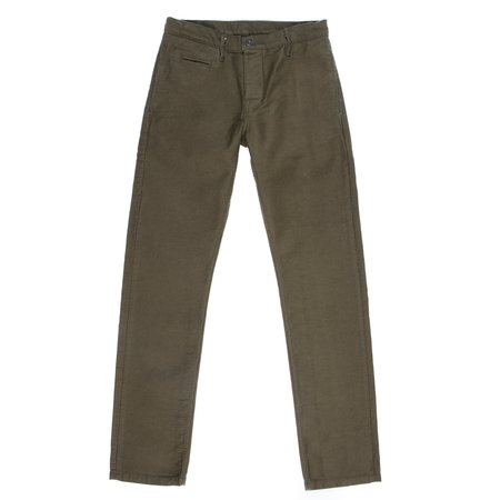 Left Field NYC N1 Deck Cord Chino - Olive