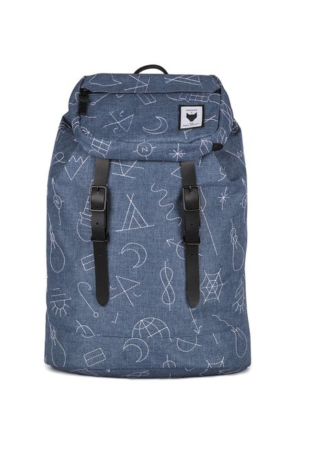 UNISEX The Pack Society EMBROIDERY PREMIUM BACKPACK - BLUE