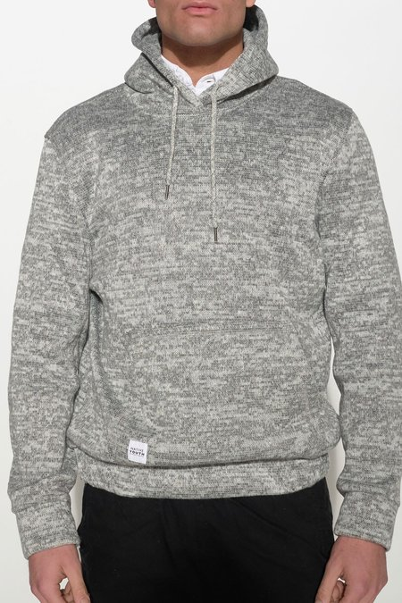 Native Youth BONDED KNIT HOODIE - gray