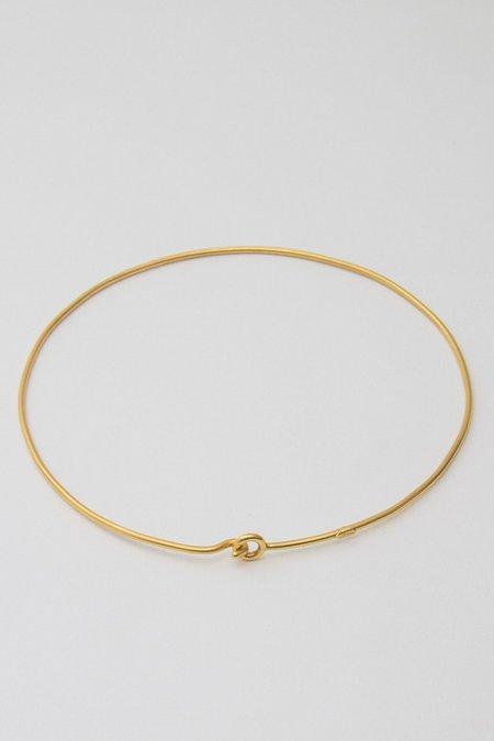 BORD DE L'EAU HOOK NECKLACE - GOLD