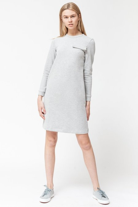 About Wear Lounge Dress - Grey