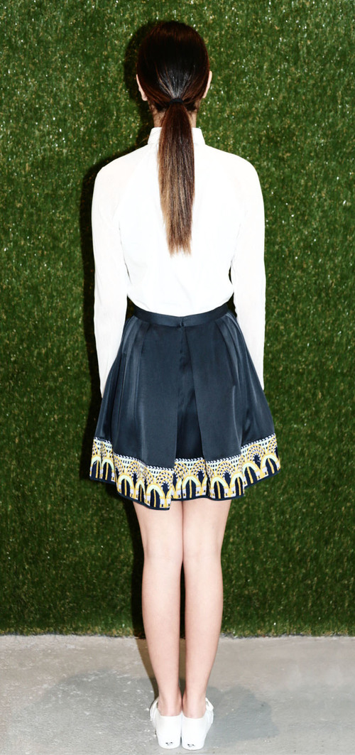 HARARE Embroidered Skirt