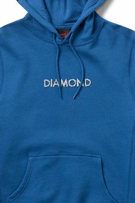 DIAMOND SHIFT HOODIE - BLUE