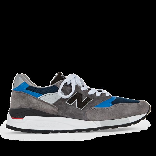 timeless design f24f6 1464f New Balance M998NF sneaker - GREY/NAVY on Garmentory