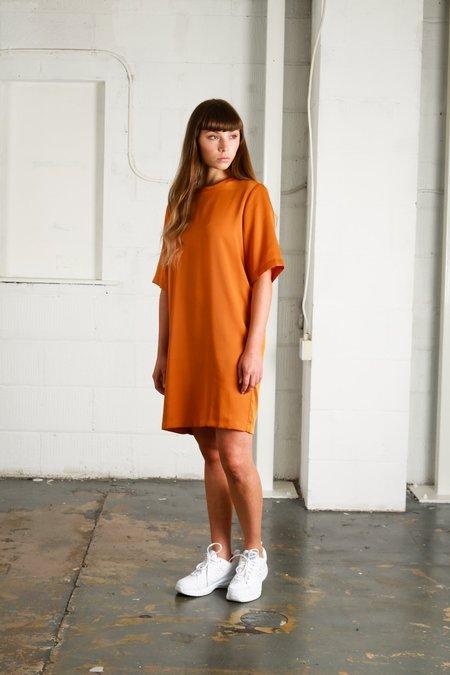 Native Youth Beauvale Dress - Rust