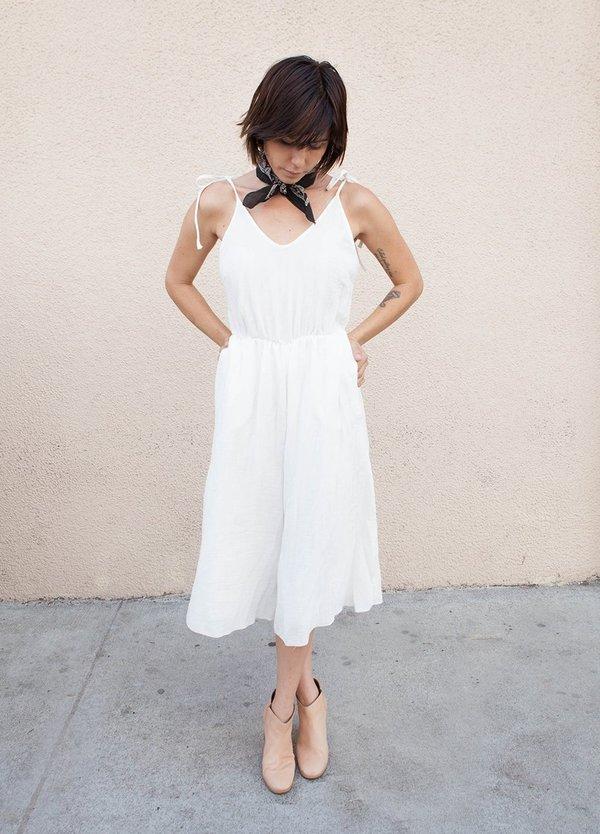 Sasha Darling Birkin Romper - Winter White