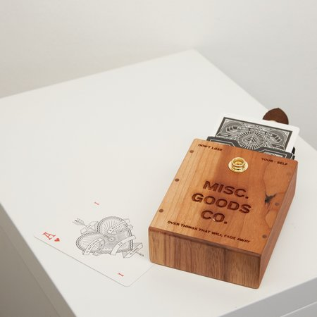 Misc. Goods Co. Wood Hard Case