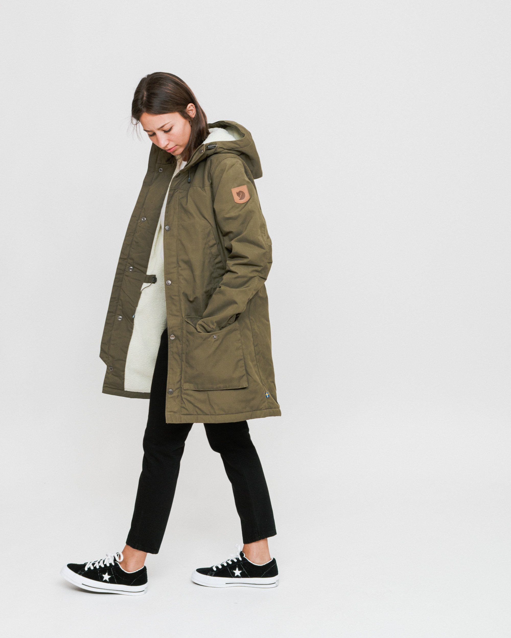 best place discount shop new lower prices Fjallraven Greenland Winter Parka - Laurel Green