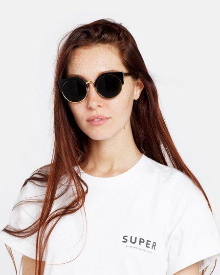 RetroSuperFuture Ilaria Sunglasses - Black