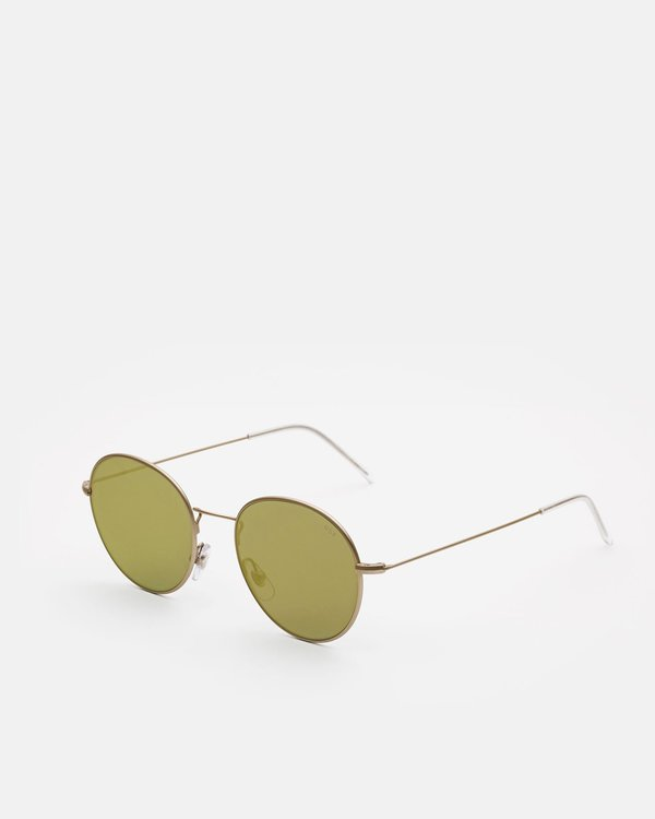 Gold Garmentory Zero On Super Wire Sunglasses KTF3l1uJc