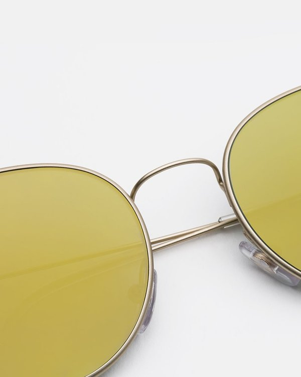 Super Wire Zero Sunglasses - Gold