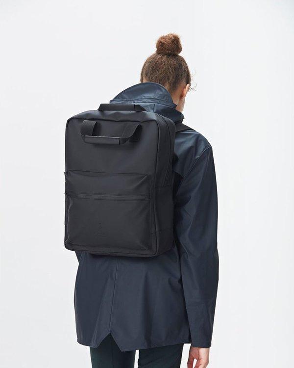 7557ff3cb Rains Scout Backpack - Black | Garmentory