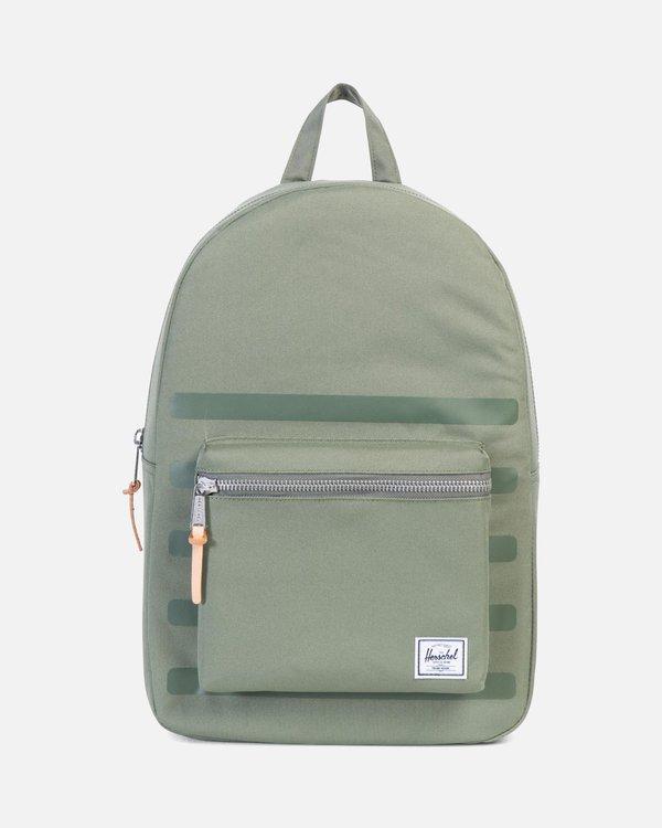 enjoy free shipping fine quality promo codes Herschel Supply Co Settlement Backpack - Deep Lichen Green Stripe on  Garmentory