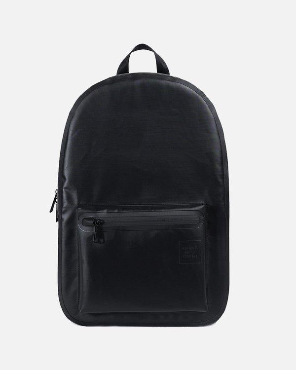 Herschel Supply Co Settlement Studio Backpack - Black Tarpaulin ... 80996b2b965c2