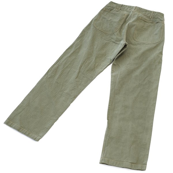 Buzz Rickson s HBT USMC Pants - Olive Drab  ca5a1133675