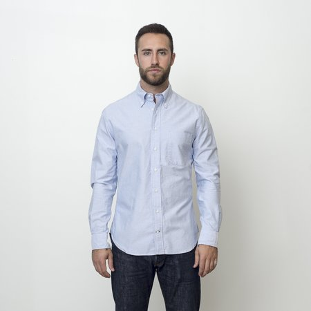 Gitman Bros. Vintage Oxford Shirt - Blue