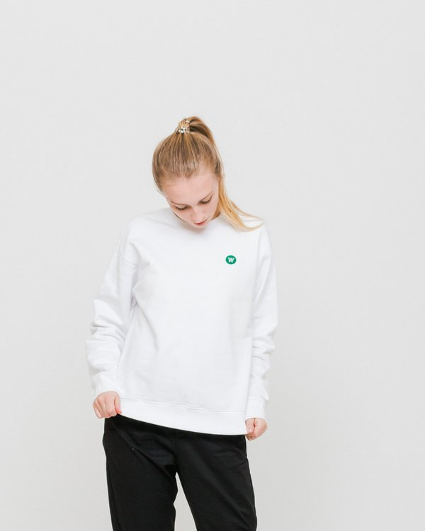 6980e52a Wood Wood Jess Sweatshirt - Bright White | Garmentory